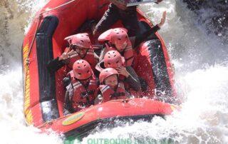 rafting di bandung